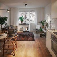 дизайн 1-комнатной квартиры 40 кв м фото 49