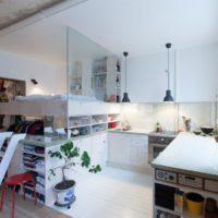 дизайн 1-комнатной квартиры 40 кв м фото 5