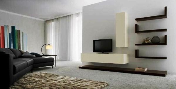 шторы в стиле минимализм в гостиной фото