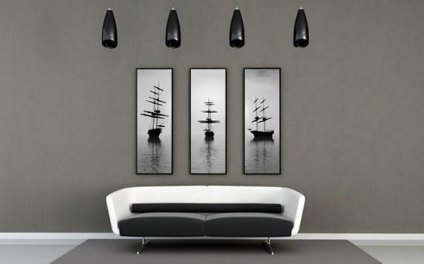 гостиная в стиле минимализм фото 18