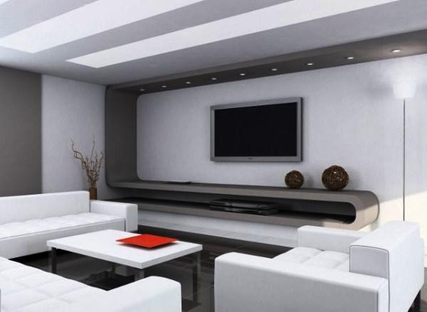 гостиная в стиле минимализм фото 19