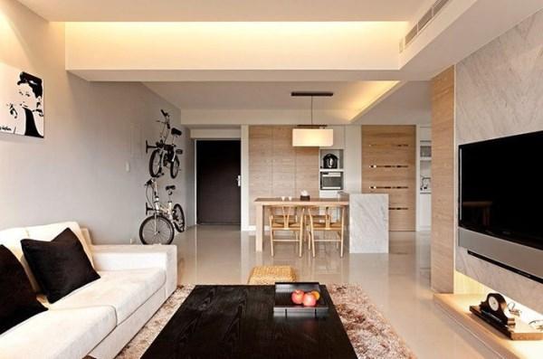 гостиная в стиле минимализм фото 20