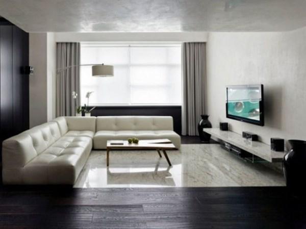 гостиная в стиле минимализм фото 24