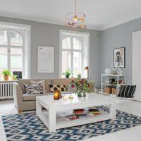 интерьер гостиной в стиле минимализм фото 11
