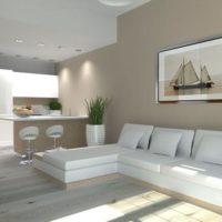 интерьер гостиной в стиле минимализм фото 15