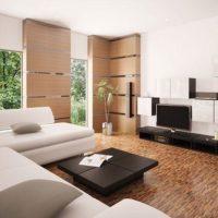 интерьер гостиной в стиле минимализм фото 18