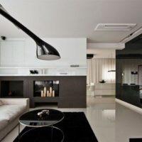 интерьер гостиной в стиле минимализм фото 21