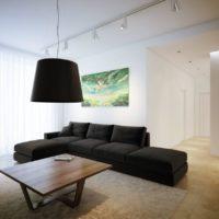 интерьер гостиной в стиле минимализм фото 26