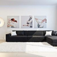интерьер гостиной в стиле минимализм фото 27