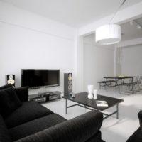 интерьер гостиной в стиле минимализм фото 37