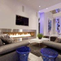 интерьер гостиной в стиле минимализм фото 4