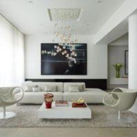 интерьер гостиной в стиле минимализм фото 40