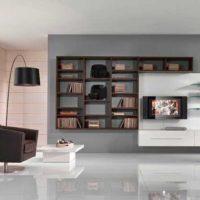 интерьер гостиной в стиле минимализм фото 43