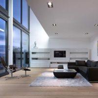 интерьер гостиной в стиле минимализм фото 49