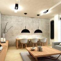 интерьер гостиной в стиле минимализм фото 54