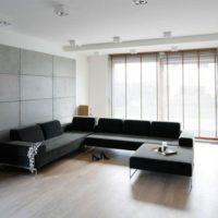 интерьер гостиной в стиле минимализм фото 56