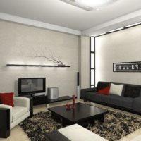 интерьер гостиной в стиле минимализм фото 58