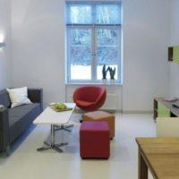 интерьер гостиной в стиле минимализм фото 7