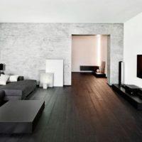 интерьер гостиной в стиле минимализм фото 8