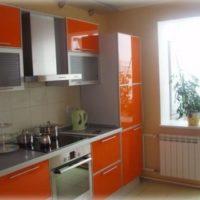 интерьер кухни с балконом фото 12