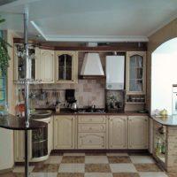 интерьер кухни с балконом фото 13