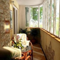интерьер кухни с балконом фото 25