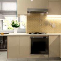 интерьер кухни с балконом фото 48