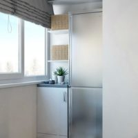 интерьер кухни с балконом фото 55