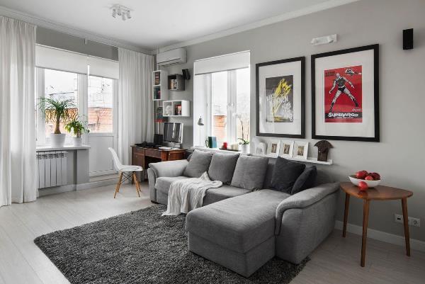 интерьеры квартир хрущевок в современном стиле фото