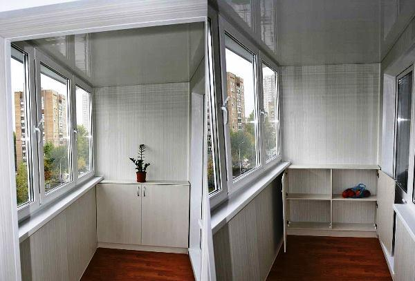 кухня совмещенная с балконом дизайн фото 16
