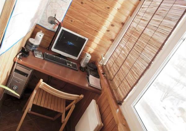 кухня совмещенная с балконом дизайн фото 17