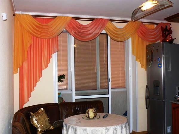 кухня совмещенная с балконом дизайн фото 6