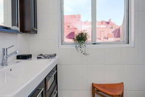 черно-белая ванная фото 13