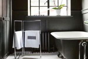 черно-белая ванная фото 37