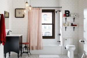 черно-белая ванная фото 42