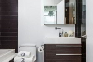 черно-белая ванная фото 44
