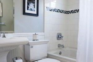 черно-белая ванная фото 46