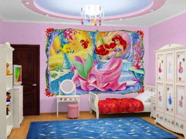 детская комната для девочек фото 15