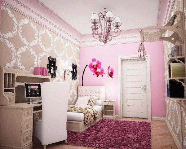 детская комната для девочек фото 16