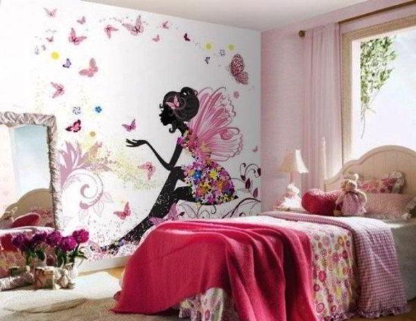 детская комната для девочек фото 5