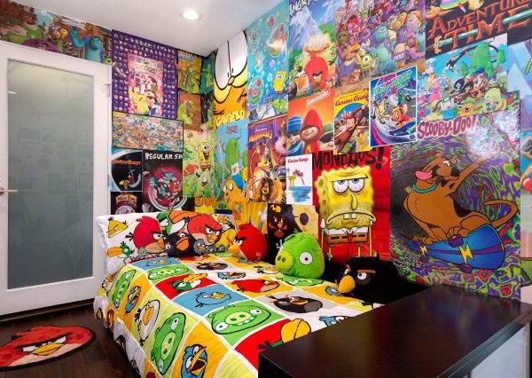 детская комната для мальчика фото 18