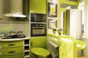 кухня 5 кв.м фото 30