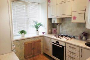 кухня 5 кв.м фото