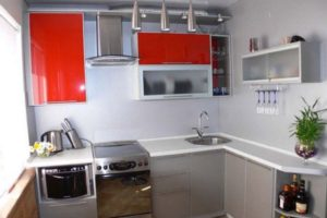 кухня 5 кв.м фото 37