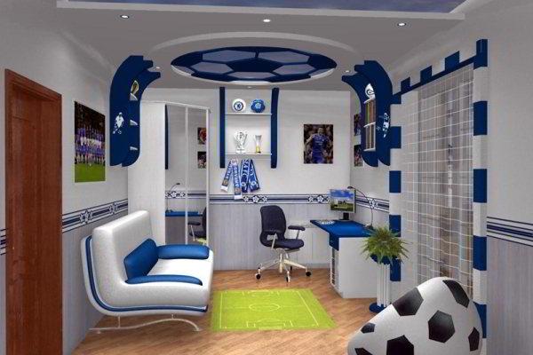 дизайн комнаты для подростка фото 13