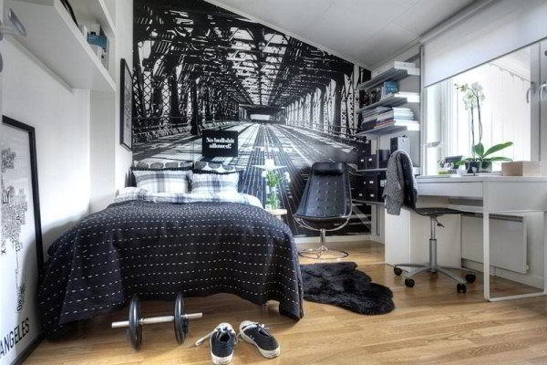 дизайн комнаты для подростка фото 14