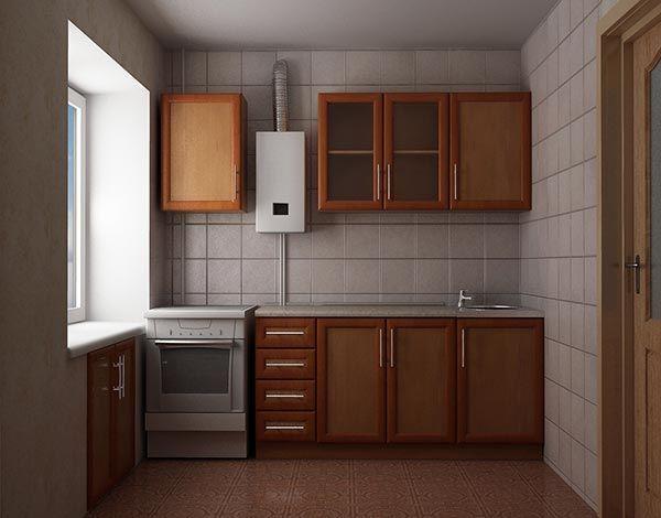 дизайн маленькой кухни 5 кв. м фото 12