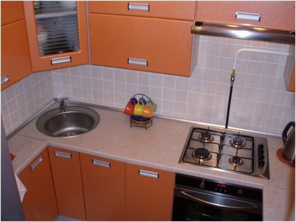 дизайн маленькой кухни 5 кв. м фото 9
