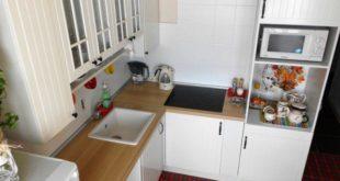дизайн малогабаритной кухни 5 кв м в хрущевке фото