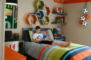 дизайн подростковой комнаты фото 36